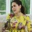 Lady Ribbon's Made Lady Ashley Colourful Fantasy Nature Printed Dress thumbnail 6