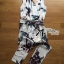 Lady Ribbon's Made Lady Poppy Tropical Summery Printed Jumpsuit thumbnail 11
