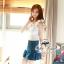언발 나시블라우스 Angel wing blouse and denim short&#x2605 &#x2661Odee&Cutie Daily Fashion 2014&#x2661 thumbnail 2