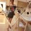 Cliona Made, Denim Double Libbon Papillon Mini Dress thumbnail 5