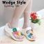 รองเท้าแฟชั่นสไตล์ fitflop แต่งดอกไม้หลายสีสวยงาม thumbnail 1