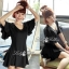 Lady Ribbon's Made Downtown Cool and Casual Chic Jersey Mini Dress thumbnail 2