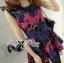Lady Colourful Embroidered Mini Dress thumbnail 5