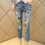 Cliona made,Mickey Mouse Print Denim Casual Jean thumbnail 4