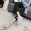 รองเท้าผ้าใบแฟชั่นแบบรัดเชือก เนื้อผ้ายืดหยุ่นสวมใส่สบายพื้นนิ่มมาก thumbnail 2