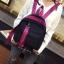 กระเป๋าเป้ทรงน่ารัก งานเย็บเนี้ยบ ไนล่อนเนื้อหนาอย่างดี thumbnail 4