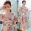Lady Ribbon's Made Lady Tabitha Sweet Floral Effect Mini Dress thumbnail 3