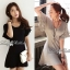 Lady Ribbon's Made Downtown Cool and Casual Chic Jersey Mini Dress thumbnail 1