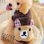 เสื้อกันหนาวสุนัข หมีสีน้ำตาล (พร้อมส่ง) thumbnail 1