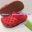 รองเท้า crocs retro clog รุ่นเรโทร สีแดง thumbnail 1