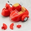 Pre-order Cu-poche:extra Motorcycle & Sidecar (Cherry Red) thumbnail 4
