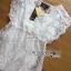 Lady Ribbon's Made Abigail Pretty and Sexy White Lace Mini Dress thumbnail 16
