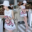 Sevy A Line 3D Vintage Sleeveless Mini Dress thumbnail 2