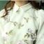 Sweet flower see -through shirt thumbnail 5
