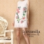 floral embellish whit diamonds collar See-through Dress thumbnail 3