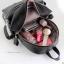 กระเป๋าเป้แบ็คแพ็คแฟชั่นสไตล์เกาหลี วัสดุหนัง pu เนื้อ Saffiano คุณภาพดี thumbnail 5