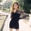 Long Sleeve Lace Blouse & Pencil Skirt Set thumbnail 2