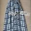 Lady Ribbon's Made Lady Helena Summer Seductive Check Printed Maxi Dress thumbnail 4
