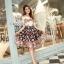 Cliona Made, European Silk Colour Ball Skirt Set thumbnail 4