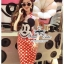 &#x2605Mickey polka dot apron set&#x2605 thumbnail 1