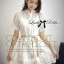 Lady Ribbon's Made Lady Jennifer Sweet Button Down Organza Lace Dress thumbnail 4