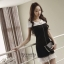 New arrival Premium Quality Luxury Jays Pearl Dress thumbnail 1