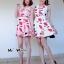 Dress เนื้อผ้านิ่มสวยเว่อร์ ภาพลายพิมพ์คมชัด thumbnail 4