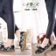 รองเท้าเพื่อสุขภาพ ทำจากหนังนิ่ม พื้นยางพาราแท้ บิดหักงอได้ เย็บตะเข็บไว้ด้านนอก thumbnail 3