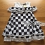 Lady Ribbon's Made Lady Isabella Smart Off-Shoulder Check Printed Cotton Dress thumbnail 9