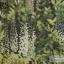 วอลเปเปอร์ติดผนังลายพุ่มดอกไม้ สีเขียวฟ้า LOF-J79 thumbnail 1
