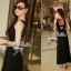 Lady Ribbon's Made Lady Beatrice Elegant and Glamourous Jersey Maxi Dress thumbnail 3