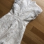 Lady Ellie Fancy Ruffle White Lace Dress thumbnail 10