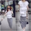 Cliona made' Korean Summer Shirt + Beeline Skirt Set thumbnail 8