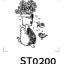 Cartoon Stamp - รูปการ์ตูนน่ารัก 018 thumbnail 1