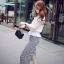 Cliona made' Korean Summer Shirt + Beeline Skirt Set thumbnail 5