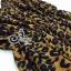 (ส่งฟรี EMS) Sevy Hi-End Leopard V-Neck Open Leg Maxi Dress thumbnail 9
