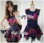 Lady Colourful Embroidered Mini Dress thumbnail 2