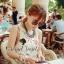 Flower & Leaf Glitter and Colors Jewel Furnish Premium Dress by Seoul Secret thumbnail 1