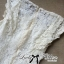 Lady Ribbon's Made Lady Jessica Classic Lace Dress in Ivory thumbnail 12