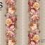 วอลเปเปอร์ลายทางดอกไม้ใหญ่โทนสีส้มวินเทจ GAR3-B58W thumbnail 2