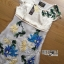 Lady Ribbon's Made Lady Hannah Sweet Feminine Satin and Flower Embroidered Organza Mini Dress thumbnail 9