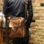 พร้อมส่ง กระเป๋าสะพายข้าง สีน้ำตาล กระเป๋าถือใส่เอกสาร ผู้ชาย เท่ห์มาก thumbnail 1