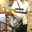 พรีออเดอร์ กระเป๋า สีดำ หรือใช้สะพาย หนังPU ใบใหญ่ ใช้เป็นกระเป๋าเดินทางได้ thumbnail 2