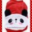 เสื้อกันหนาวสุนัข แพนด้า สีแดง (พร้อมส่ง) thumbnail 2