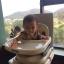 เก้าอี้ทานข้าวเด็ก เก้าอี้ทานข้าวเด็กปรับระดับได้ สีเทา thumbnail 6