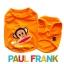 (สินค้าหมดรุ่น) เสื้อกล้ามสุนัข Paul Frank สีส้ม รุ่น 7 สี 7 วัน พร้อมส่ง thumbnail 1