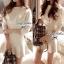 Lady Ribbon's Made Lady White Bella Mini dress thumbnail 3