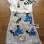 Lady Ribbon's Made Lady Hannah Sweet Feminine Satin and Flower Embroidered Organza Mini Dress thumbnail 13