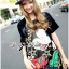 Lady Ribbon's Made Lady Micky Printed and Sequin Liz Hip-Hop Style T-Shirt Dress thumbnail 6