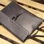 พร้อมส่ง กระเป๋าถือ สีดำ กระเป๋าเอกสาร ใส่โทรศัพท์ ใส่ ipad thumbnail 4